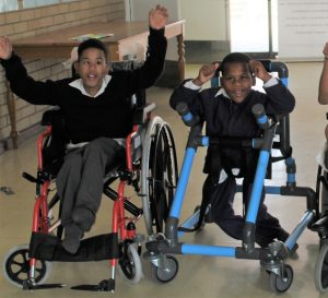 Boys at Alta du Toit school